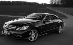 Mercedes Benz e350 Coupe  All black int & ext w/ tint