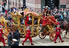 Lord Mayor of London's State Coach Lord Mayor Of London, London City, Queen Elizabeth