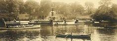 Bethesda fountain and lake