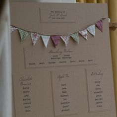 Bunting Wedding Invitations | Must be FeteTo Have & To Hold
