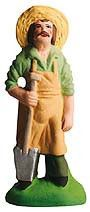 The Gardener - Jardinier - Size #2 / Elite Santons from Marcel Carbonel - find at www.mygrowingtraditions.com | My Growing Traditions