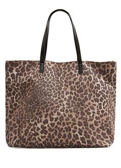 MANGO - Bolso shopper estampado animal