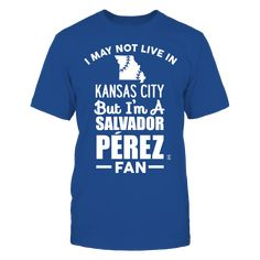 Salvador Perez Official Apparel - this licensed gear is the perfect clothing for fans. Makes a fun gift!