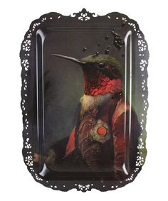 Au Grand Theatre Ambrose Hummingbird Tray, Ibride. Shop more trays from the Ibride collection at Liberty.co.uk