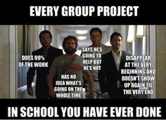 Group projects in school...so true. #teacherproblems