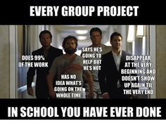 Funny memes [Every group project]