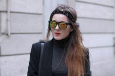 Elodie in Paris: RETRO SUPER FLAT TOP REVO MIRRORED LENS SUNGLASSES 8090