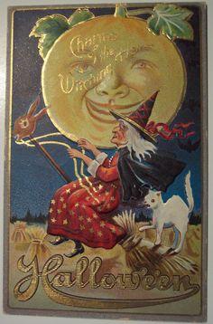 Vintage Halloween Postcard | M.L Jackson | Dave | Flickr