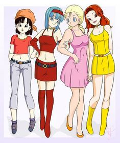 Dragon Ball Gt, Dragon Ball Image, Bra Girl, Goten Y Trunks, Manga Dragon, Dbz Characters, Fan Art, Cultura Pop, Cosplay Girls