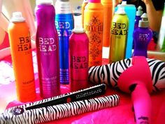 BedHead products: I love the After Party product <3