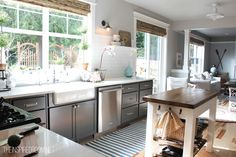 Kitchen Before & After: A Standard Builder's Kitchen Gets a Better Layout Kitchen Remodel | The Kitchn
