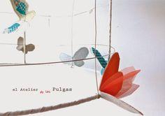 Lámpara de El Atelier de las Pulgas. Modelo Mariposario. Puedes encontrarla en Luz & Ambiente.