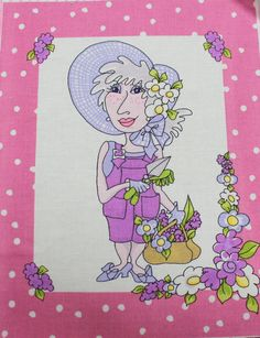 Applique Iron On Applique Loralie Harris by EmbellishByAndrea, $8.95