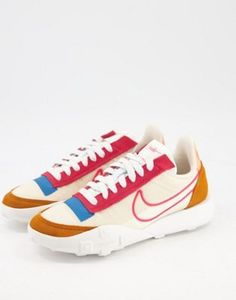 Nike Waffle Racer, Baskets, Asos, Shoes Sport, Orange, Sneakers, Products, Fashion, Sports
