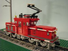 /by Brickhead #flickr #LEGO #train