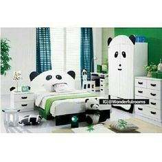 Panda room sooo cute its like wow