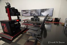 Cool computer setup