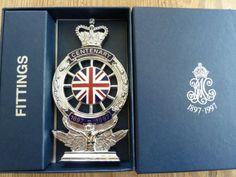 The Royal Automobile Club- RAC - Full Member Larger De Luxe Centenary Badge 1997