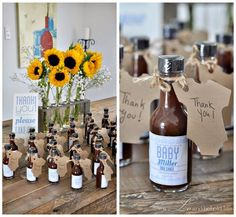 a LO and behold life: Rustic Backyard BBQ Baby Shower