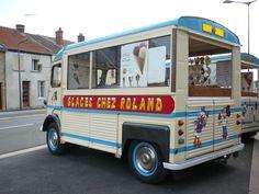 Citroën HY food truck, Icecream, Glaces Chez Roland