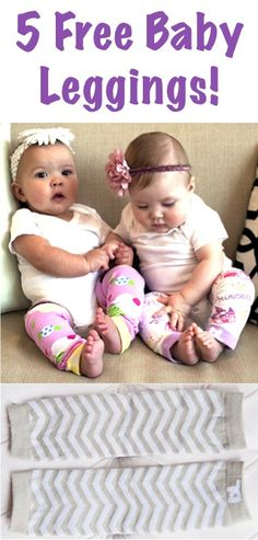 Free Baby Leggings! {just pay s/h}  These fun Baby Leg Warmers for boys and girls are perfect for crawling, or just keeping baby's legs cozy warm!  They make such CUTE Baby Shower Gifts, too!  Just pick your favorite pattern!   TheFrugalGirls.com