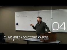 Career Opportunities with Douglas E. Welch » Think more about your career from Using the Career Compass to Find Your Work and Career [Video] (0:38)
