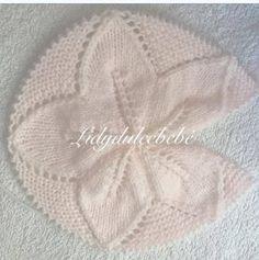 : Tutorial Sheet No. Love Knitting, Knitting For Kids, Baby Knitting Patterns, Crochet For Kids, Crochet Baby, Knit Crochet, Knitted Baby Blankets, Knitted Hats, Baby Cardigan