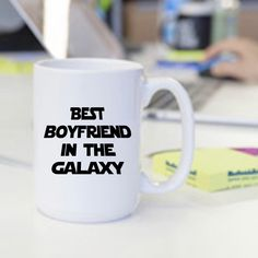 Valentines Day Gift for Him - Star Wars Mug - Valentines Mug - Funny Mug - Best Boyfriend In The Galaxy - Coffee Mug by AmazingBibleVerses on Etsy https://www.etsy.com/listing/265121751/valentines-day-gift-for-him-star-wars