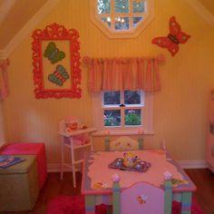 Playhouse Interior!