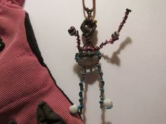 June 2015 ~ Wee Lil JunkMan...recycled rusted metal recovered while metal detecting.   Made By:  Robin Rivera