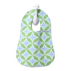 Foursquare Blue Bib. Lovely gift for mom and baby.