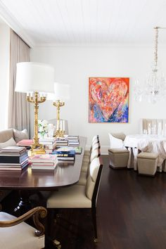 Art reigns supreme at this luxurious Nashville, Tennessee, mansion decorated by the Chad James Group