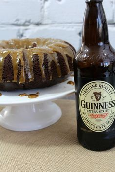 Guinness Chocolate Cake Recipe perfect for St. Patrick's Day!