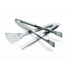 Weber Accessories - Weber Three Piece Stainless Steel Tool Set | Vancouver BBQs and BBQ Parts - THE BBQ SHOP - Broil King, Weber, Weber Q, Napoleon, Vermont Castings, Jackson Grills, DCS, Traeger, Bradley Smokers, Primo, Cobb Barbecues in Vancouver - Port Coquitlam | The BBQ Shop