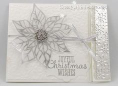 2013 Stampin Up Christmas Cards | Joyful Christmas is a new stamp set in the Stampin' Up Holiday ...