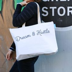 Dream & Hustle Tote