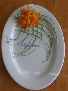 food garnish ideas | ... Carving Arrangements and Food ...