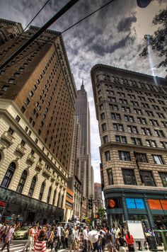 NYC. Manhattan street scene