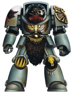 Wolf Guard Terminator Alar, Honoured 3rd Pack