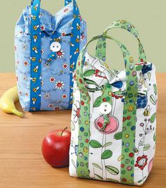 DIY Cute-Enough-to-Eat Lunch Bags