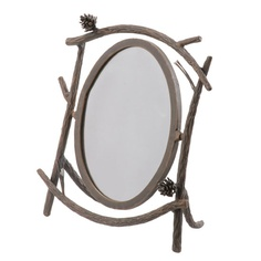 Pine Table Mirror - Stone County Ironworks