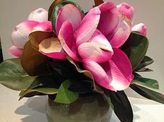Pink Magnolia Bouquet by Forever Botanicals