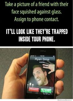 Trapped in phone