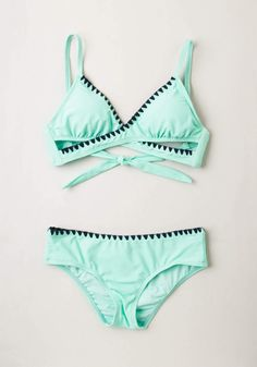 Another Day, Another Wave Swimsuit Bottom | Mod Retro Vintage Bathing Suits | ModCloth.com