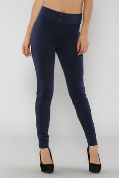 Highwaisted Pants In Grey - $14