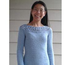 Arctic Frost Pullover via Craftsy