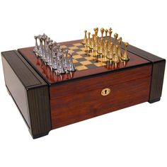 Chess & Humidor Set, One of the coolest humidors I've ever seen.