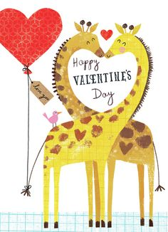 Leading Illustration & Publishing Agency based in London, New York & Marbella. Happy Birthday Floral, Valentines Illustration, Valentine's Day Printables, Paperchase, Valentine Box, Heart Art, Winter Holidays, Art For Kids, Prints