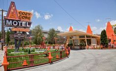 Day 16: The Cozy Cone Motel! Image ©themeparks.about.com