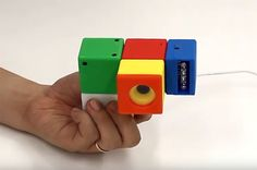 Cambits: Colorful Blocks That Transform Into Many Different Cameras